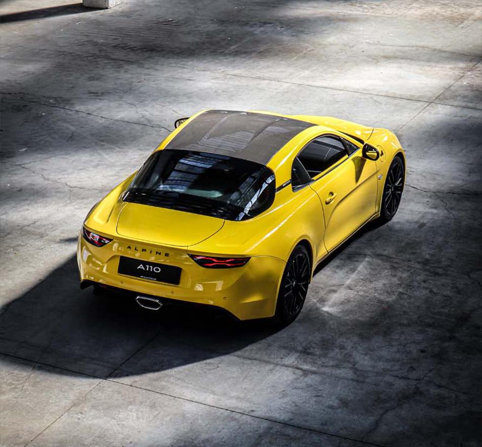 Alpine A110 Color Edition exterieur