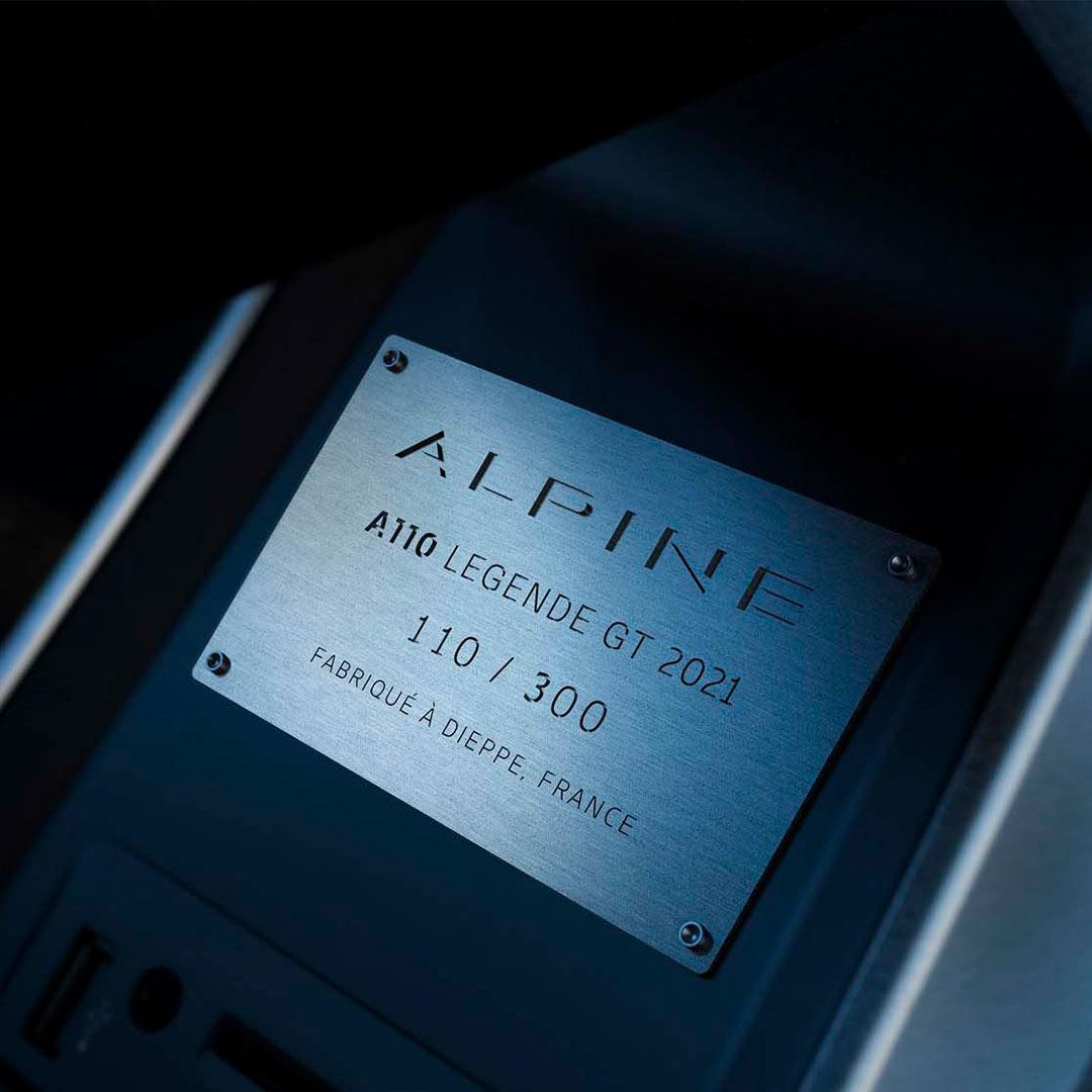 A110 Légende GT 2021
