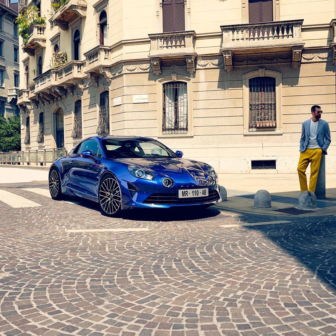Alpine A110 Légende GT 2021 - Bluejpg